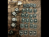 KDM Armor Tokens (12 pcs) 3d printed Two sets. Pic courtesy of BGG user sharkeyx