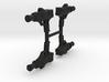 "PRHI Kenner Pilot Pistol 3 3/4"" Sprue of 4x 3d printed"