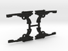 "PRHI Kenner Palace Pistol 3 3/4"" Sprue of 4x 3d printed"