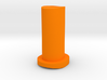 GF5 Plus 10 Caster Insert (Orange) 3d printed