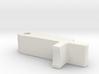 Concave Hop up arm/lever for Striker S1 3d printed