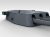 """1/700 16""""/45 MKI HMS Nelson Turrets 1927 3d printed 3d render showing B Turret detail"""