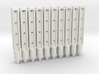 BP3-20, Wire-Rope Safety Barrier Posts 3d printed