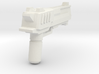 """CYBER EAGLE"" Transformers Weapon (5mm post) 3d printed"