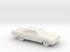 1/87 1968-70 Plymouth GTX 3d printed