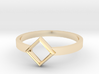 Top Square Ring  3d printed