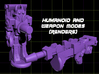 Bugs Mandible Transforming Weaponoid Kit (5mm) 3d printed render of figure in both modes