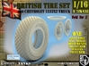 1-16 Chevy LRDG Sample Tire And Rims For FUD 3d printed