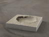 4'' Meteor Crater, Arizona, USA, Sandstone 3d printed