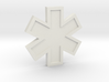EMS Star of Life 3d printed