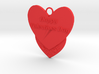 Valentine's Day Pendant 3d printed