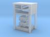 Shaker Table 3 Drawers various scales 3d printed