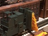 N-scale Door And Guide Car 3d printed Door and guide car on Walthers Coke Ovens. Modeling and photo by bigcamy58