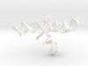 CRISPR Guide RNA with Target (mega scale) 3d printed