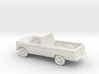 1/87 1960-61 Chevrolet C-10 Fleetside Small Rear W 3d printed