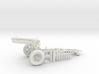 1:18 Pack Artillery Howitzer v7 3d printed