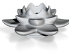 Lotus Candleholder / Kerzenhalter 3d printed