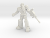 Diaclone Grenadier, 35mm Mini 3d printed
