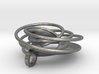 Twin Rail Mobius Pendant - small 3d printed