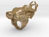 Buck Head Ring 3d printed