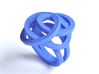 Ring Love is in the Air Medium (from $16) 3d printed Blue Soft Elegant Knot Ring