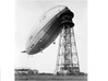 R101 with Interior Detail 3d printed R101 at the mast at Cardington