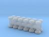 Standard Railcar Vents S Scale 3d printed