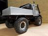 Unimog 425 Rollbar 3d printed painted white strong and flexible.. looking good