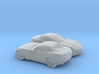 1/200 2X 2005-09 Pontiac Solstice Roadster 3d printed