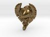 Flatwoods Monster Skull Pendant 3d printed