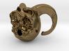 Faun Skull Pendant 3d printed