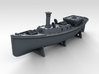 1/700 WW2 RN Boat Set 4 with Mounts 3d printed 45ft Admirals Barge