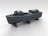 1/450 WW2 RN Boat Set 4 with Mounts 3d printed 35ft Admirals Launch