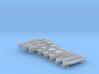 1/400 WW2 RN Boat Set 4 Without Mounts 3d printed 1/400 WW2 RN Boat Set 4 Without Mounts
