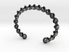 Twisted Cuff Bracelet 3d printed