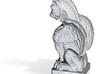 Lion-Face & Nice Hair Gargoyle  3d printed