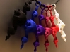 Dragon Pendant 6cm - plastic 3d printed WSF polished  + colors