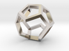 Dodecahedron Sculpture Ring B Gmtrx  3d printed