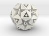 DICE Icosidodecahedron STAR 3d printed