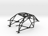 P911-GT3-CUP-Rollcage 3d printed
