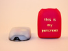 Omnipod Pod Cover - This is my pancreas 3d printed
