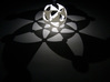 (4,3,2) triangle tiling (stereographic projection) 3d printed