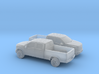 1/160 2X 2014-17 Ford F-150 Long Bed 3d printed