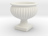 Planter Urn Hollow Form 2017-0010 various scales 3d printed