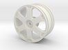 1999 Audi S3 1/10th RC wheel 3d printed