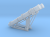 Harpoon missile launcher 2 pod 1/144 3d printed