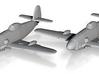 Messerschmitt Me 309 1:200 x2 FUD 3d printed