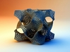Schoen's Gyroid with Organic Mesh 3d printed Render