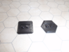 LEGO conversion baseplate (hex) 3d printed