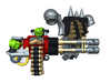 Chaos Anger Cannon wPack 3d printed Small = 1 Gun & Pack